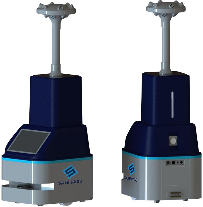 Sani Pass disinfection robots