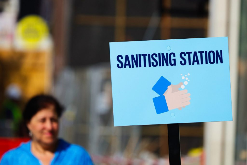 sanitising station suppliers